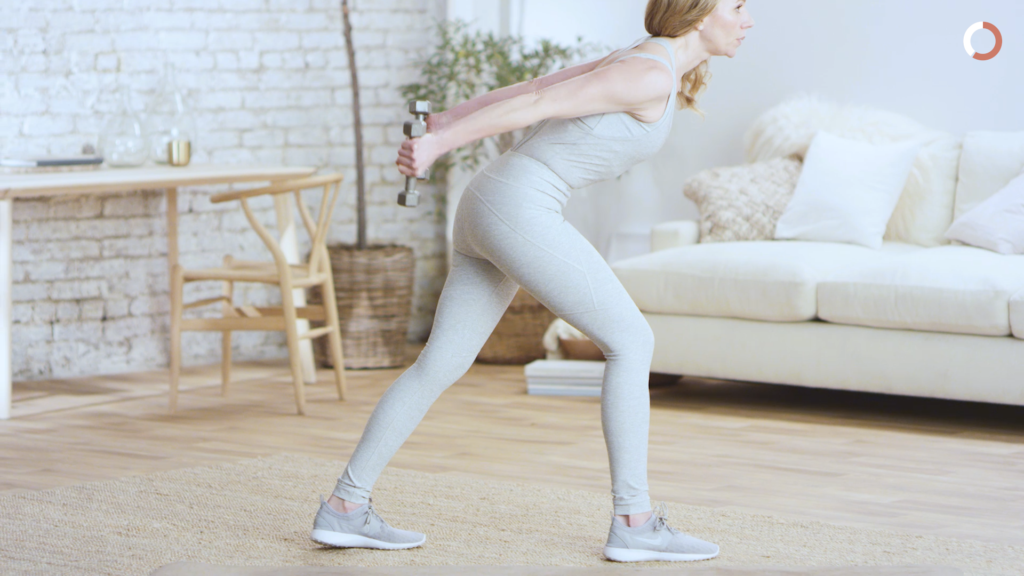 Toning Arms While Pregnant: Triceps Kickback. Every Mother