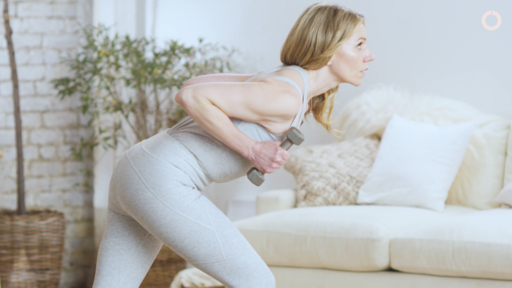 Toning Your Arms While Pregnant: Triceps Kickback